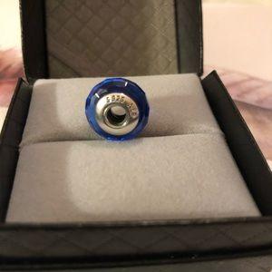 Pandora Blue Murano Charm